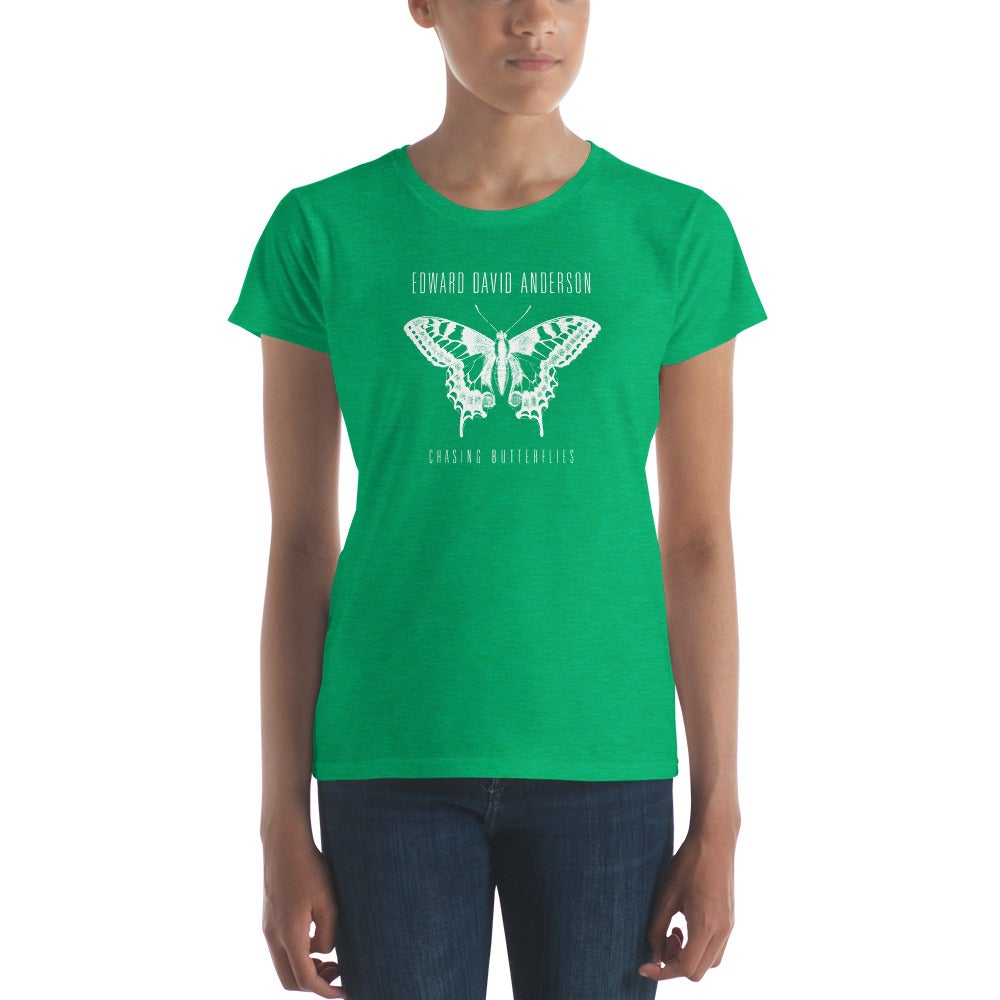 Image of Women's Chasing Butterflies Shirt (5 color options)