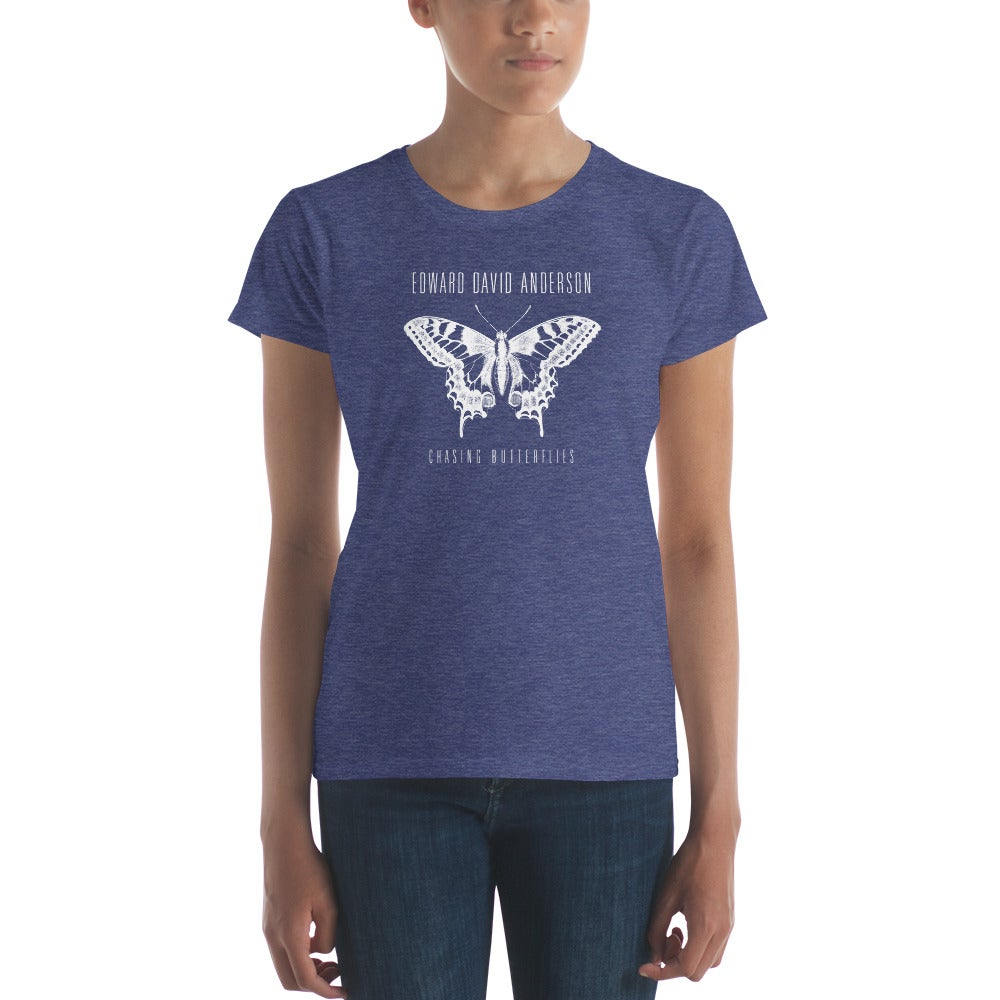 Image of Women's Chasing Butterflies T-Shirt (5 color options)