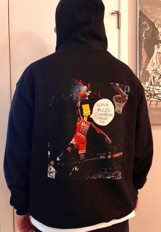 Image of HREAM JORDAN BLACK HOODIE
