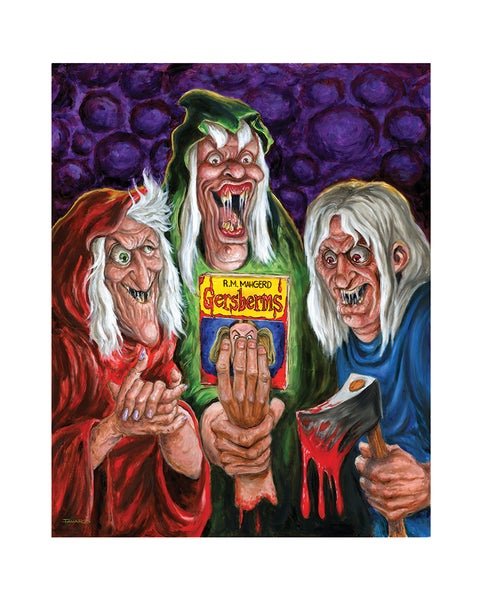 "Image of ""ERMAGHERD!"" Print (aka ""Tales from the Crypt meets Goosebumps"")"