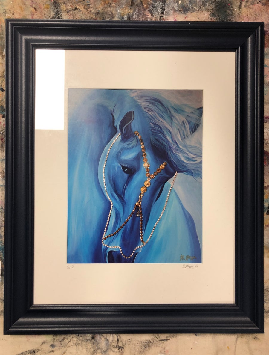 Image of Blue Valentine Framed Print
