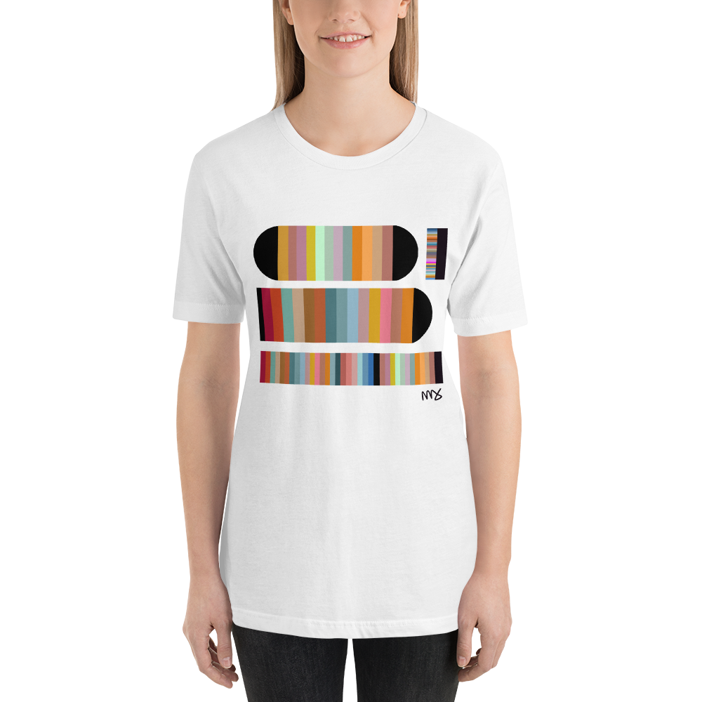Image of Unisex 'Color Study' T-Shirt