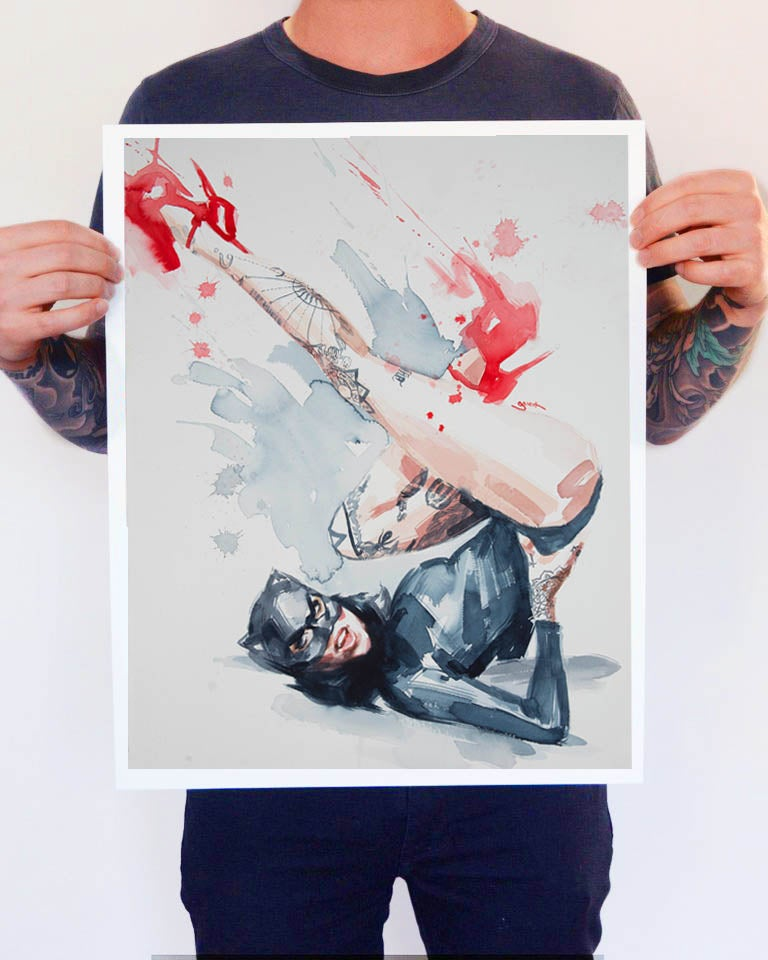 Image of Open Edition 'RED SHOES' Lithograph Print