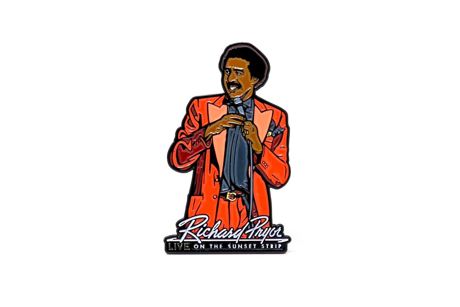 Image of Richard Pryor: Live On The Sunset Strip Enamel Pin