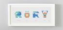 Image 4 of Animal Name Print