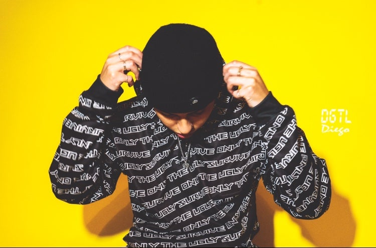 ALL OVER PRINT UGLY HOODIE