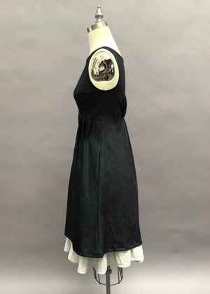 Image of Keyhole Dress - Cone Denim