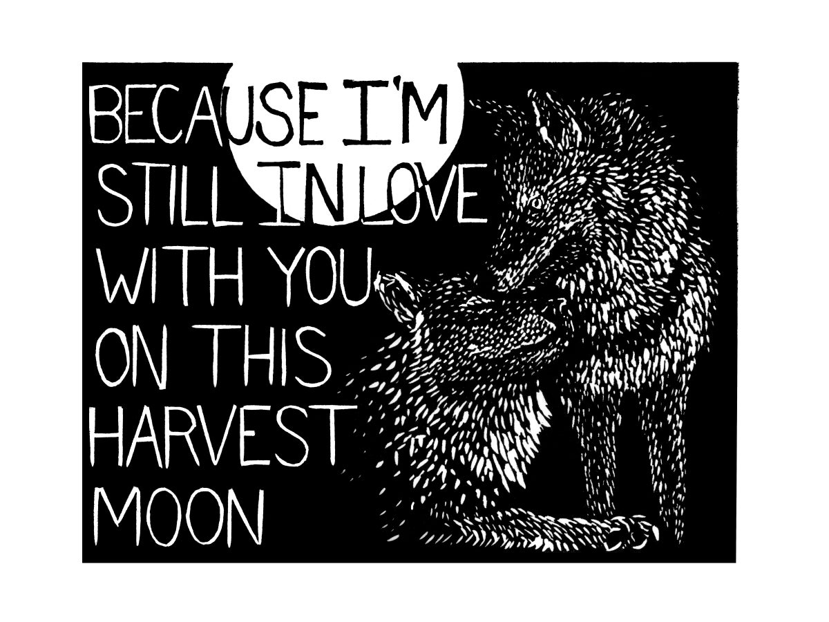 Image of I Love You, But (Coyotes)