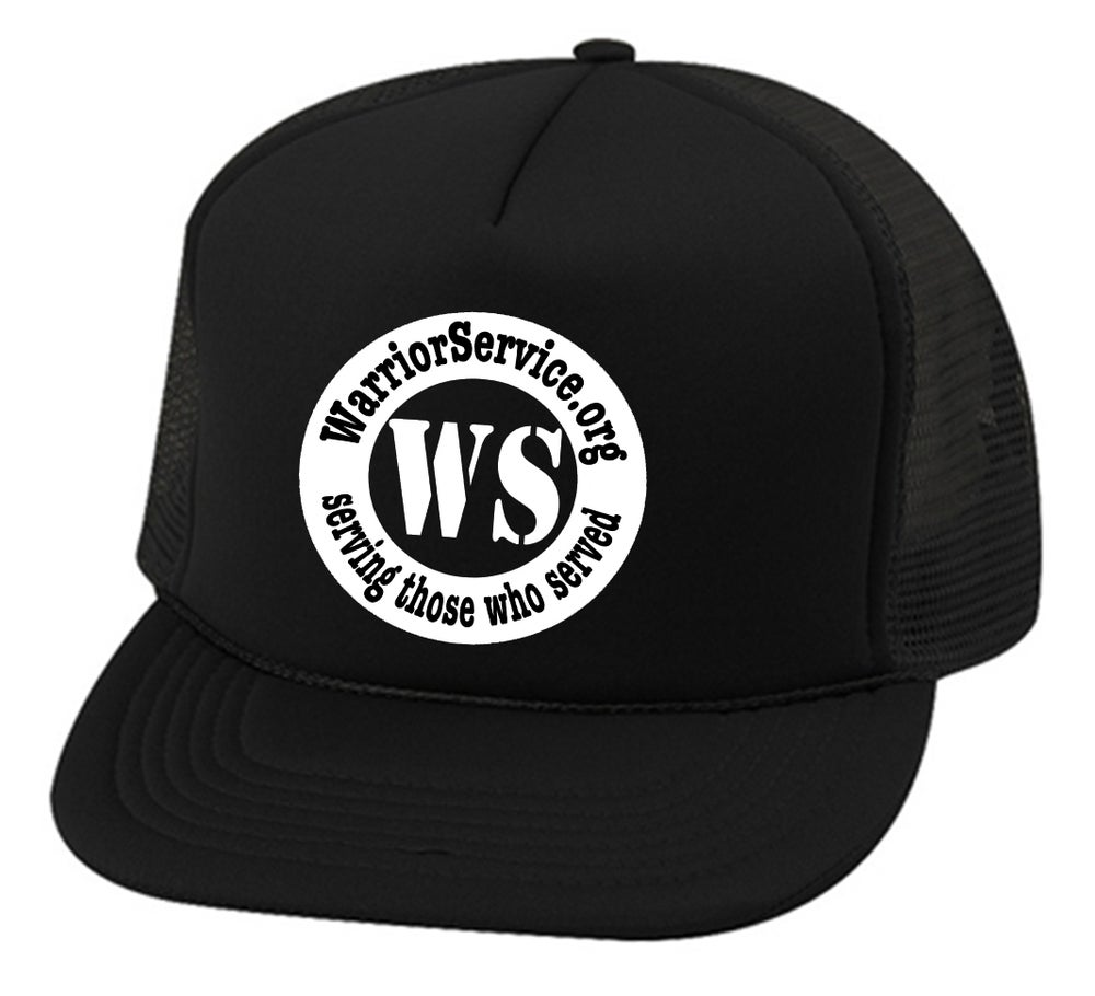 Image of OFFICIAL - WARRIOR SERVICE - TRUCKER HAT