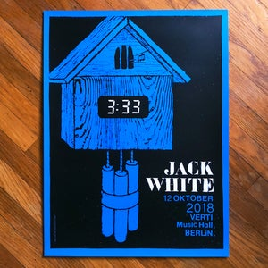 Image of Jack White poster - Berlin Germany 2018
