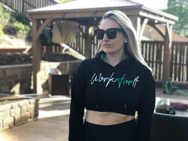 Image of Crop Top Hoodie
