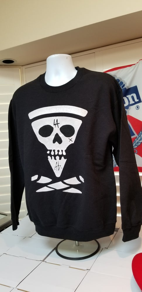 Image of Slice and bones crewneck (exclusive black Friday release)