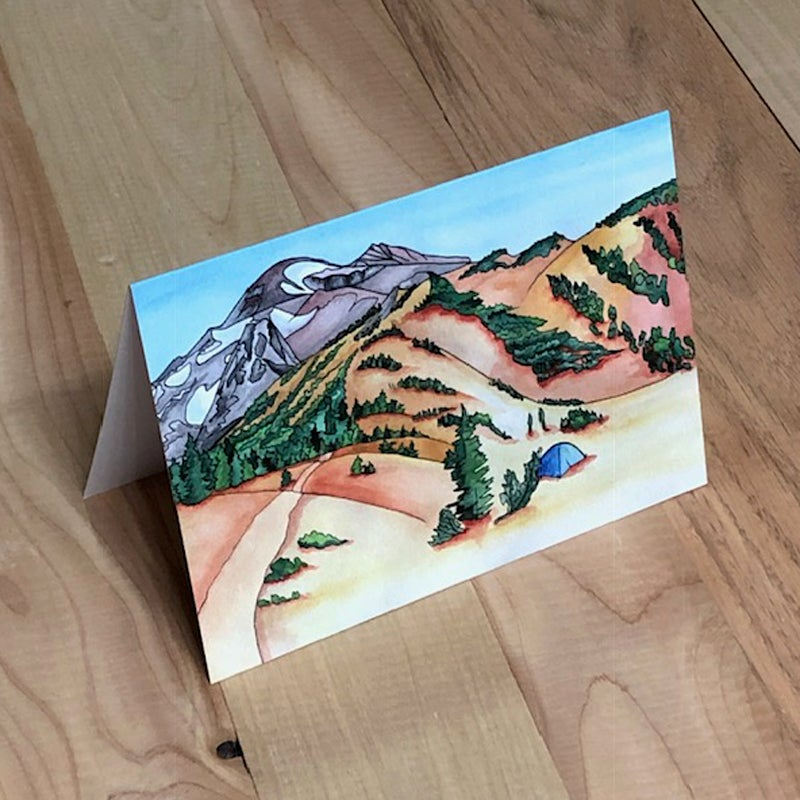 "Image of ""South Sister"" greeting card"