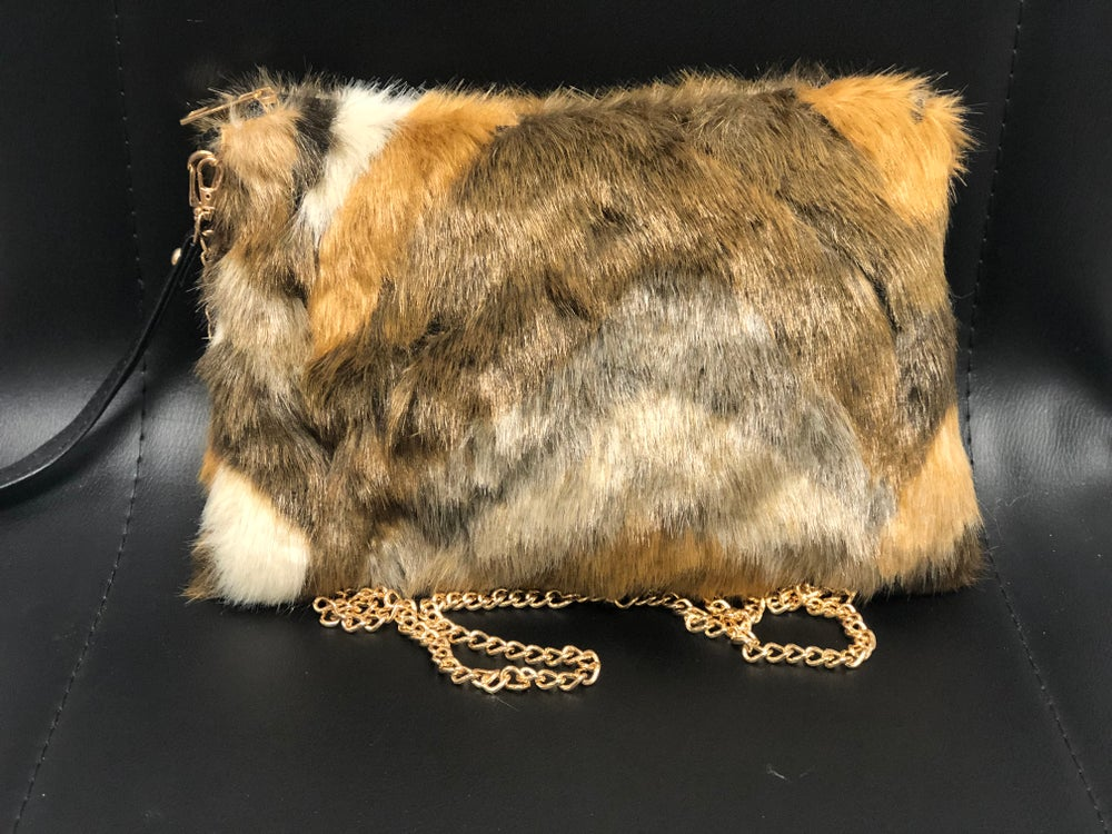 Image of Coffee Faux Fur