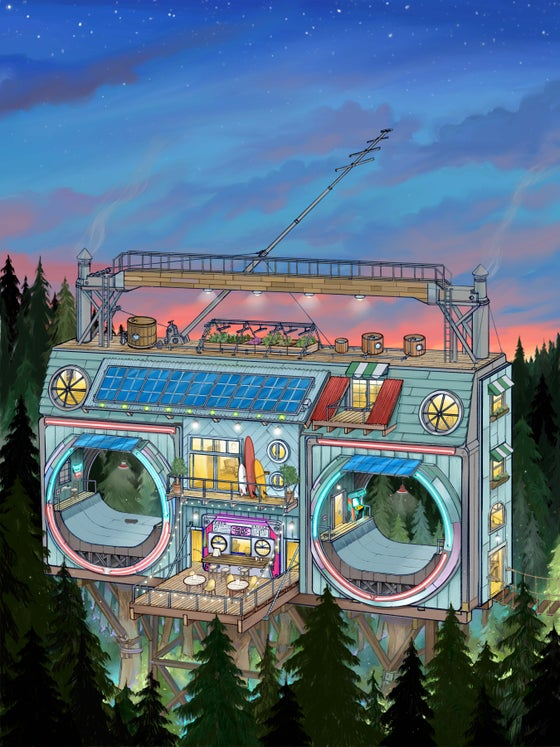 Image of Boombox Treehouse