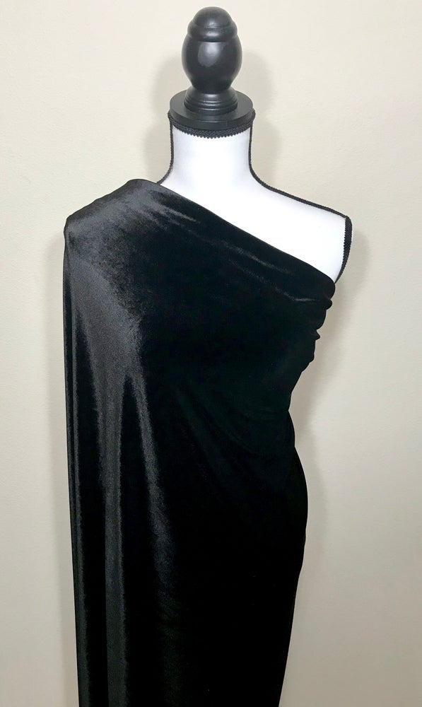 Image of Onyx Black Velvet