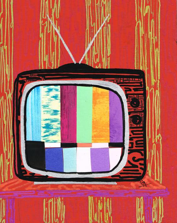 Image of Watching TV