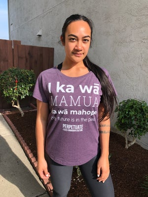Image of I ka wā (Vintage Purple) women's dolman