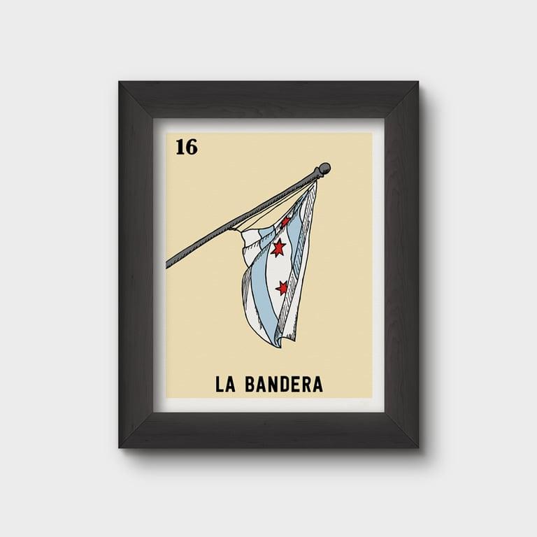 Image of La Bandera Print