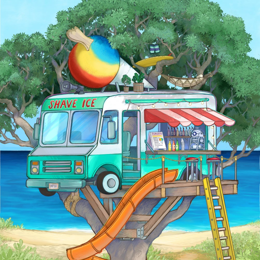 Image of Shave Ice Treetruck