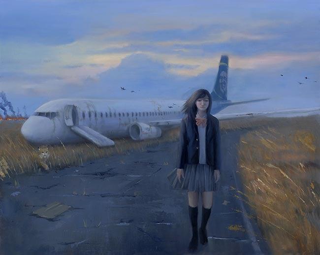 Image of Leegan Koo 'Far From Home' original art