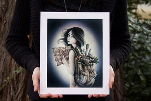 "Image of *NEW* ""The Seeker"", Limited Edition Giclee Print"