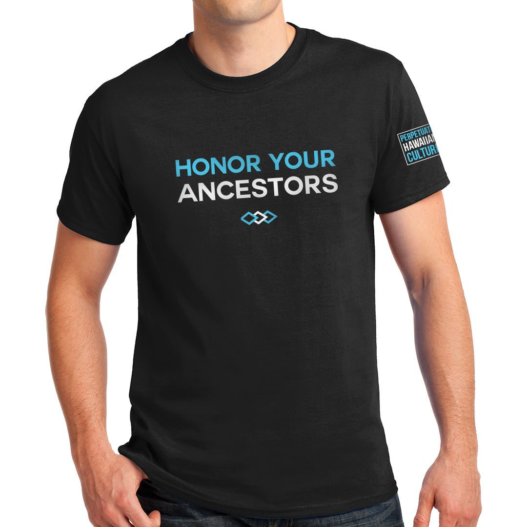 Image of Honor Your Ancestors Adult Unisex Triblend Shirt