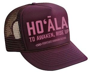 Image of Hoʻāla Hat (maroon)