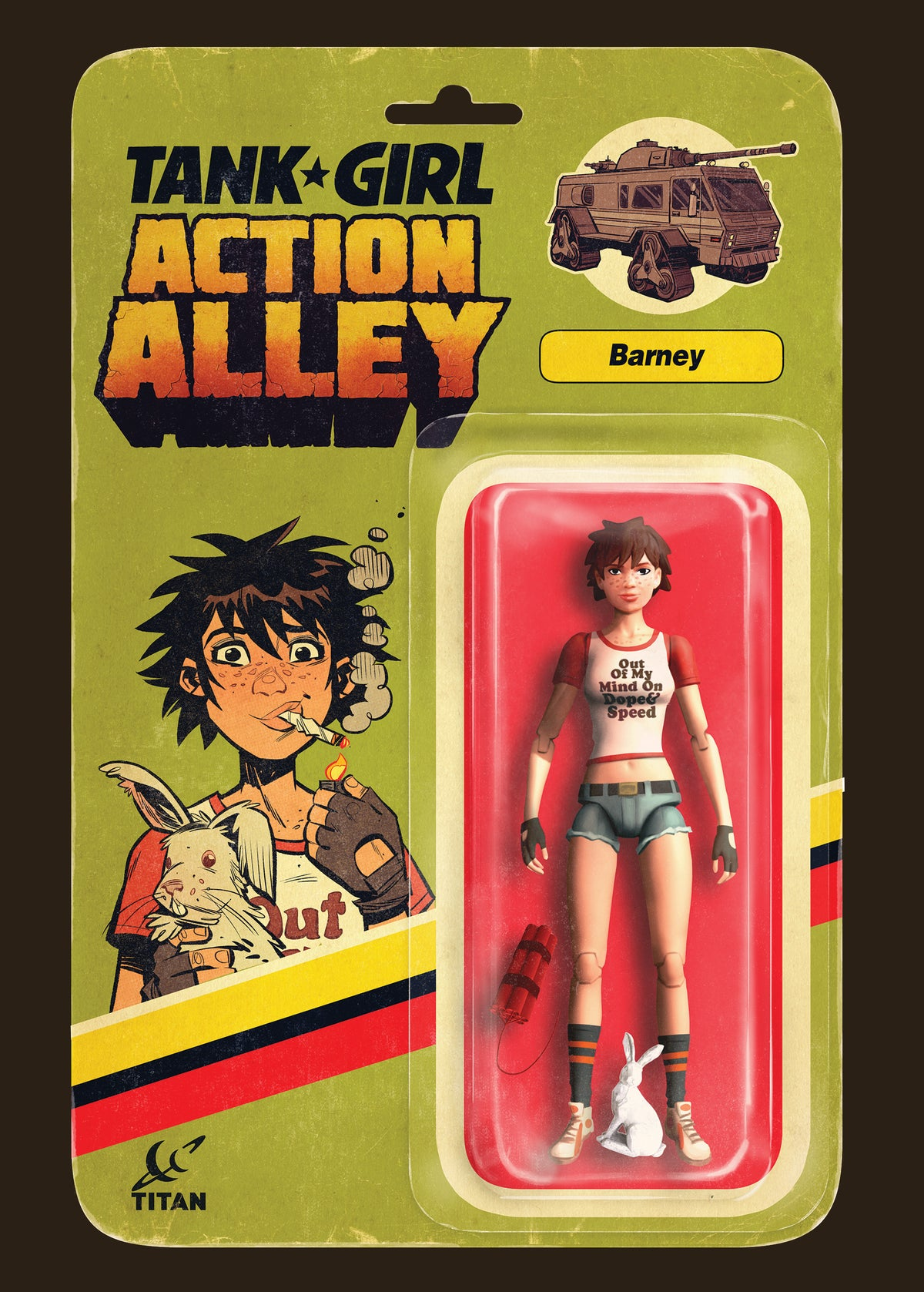 Image of Tank Girl Action Figure Print Pack (Signed)