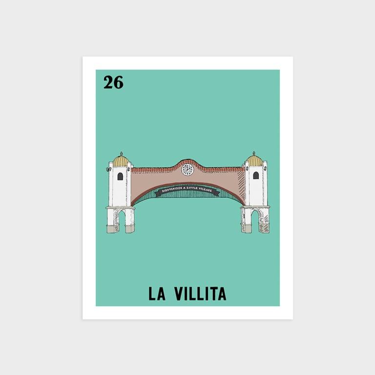 Image of La Villita Print (misprint)