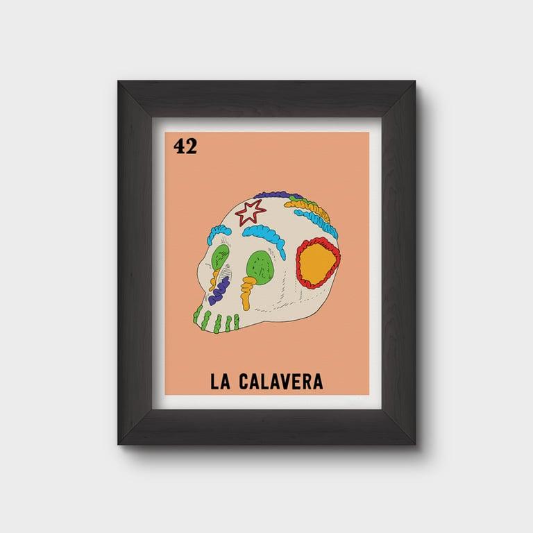 Image of La Calavera Print