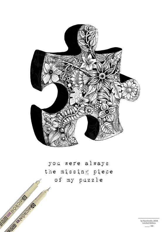Image of You were always the missing piece of my puzzle