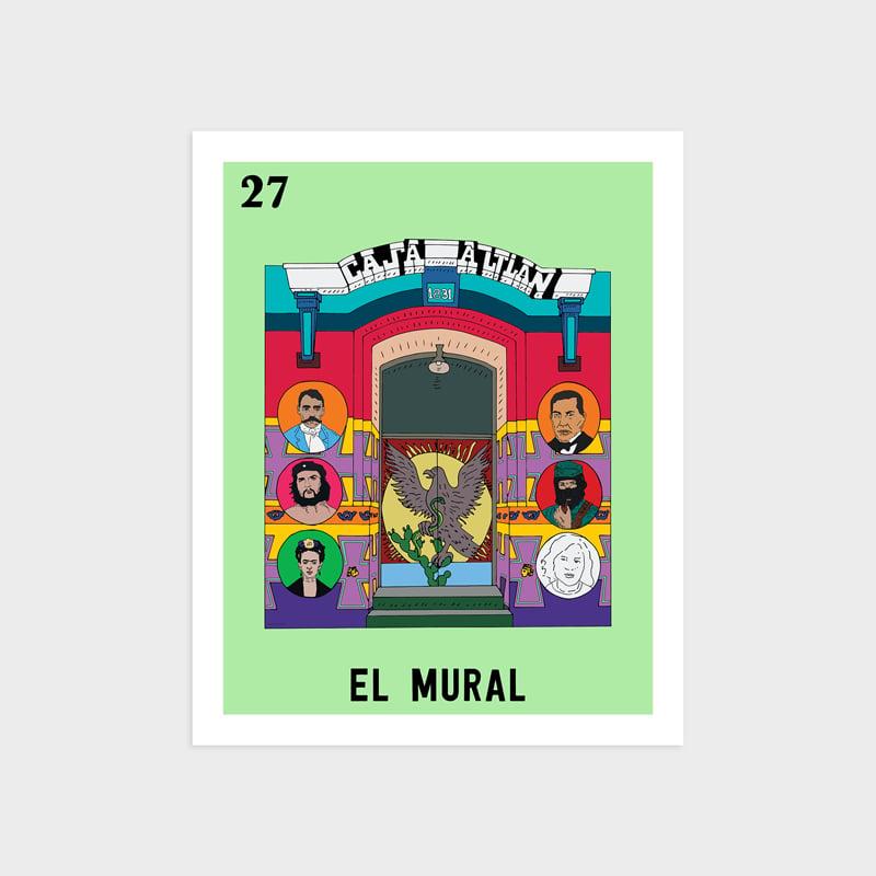 Image of El Mural Print