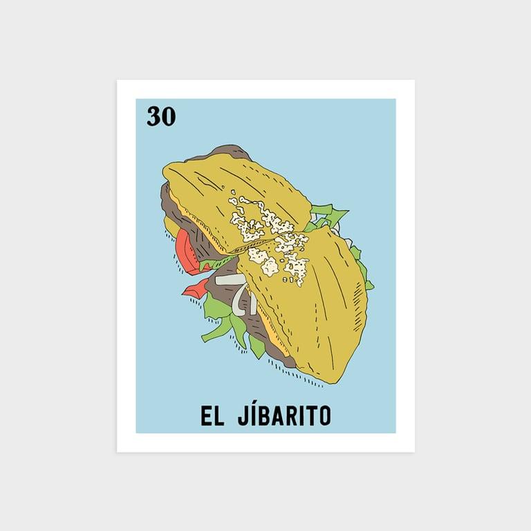 Image of El Jíbarito Print