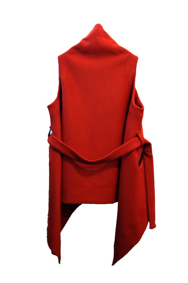 MATRIX GILET red