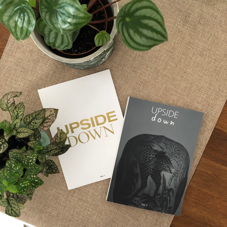 Image of Upside Down Zine Vol. 1 + Vol. 2