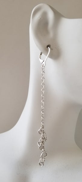 Image of loop earrings
