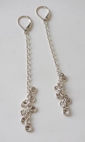 Image of loop earrings