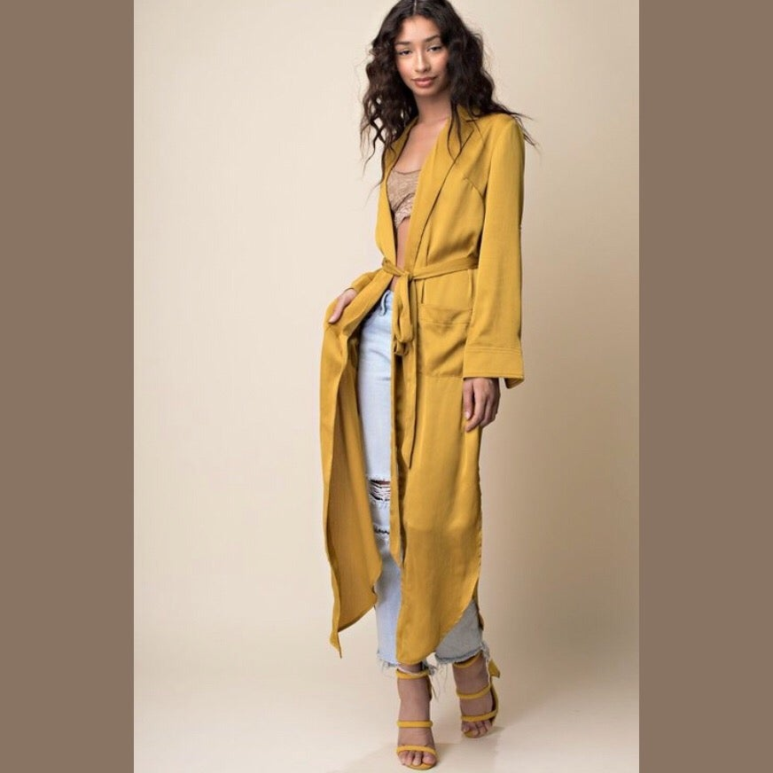 Image of Gaby Satin Duster
