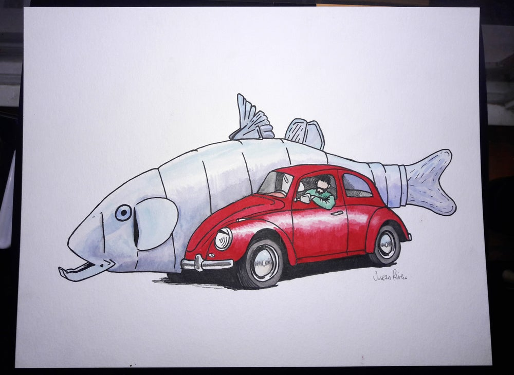 Image of Fish Car