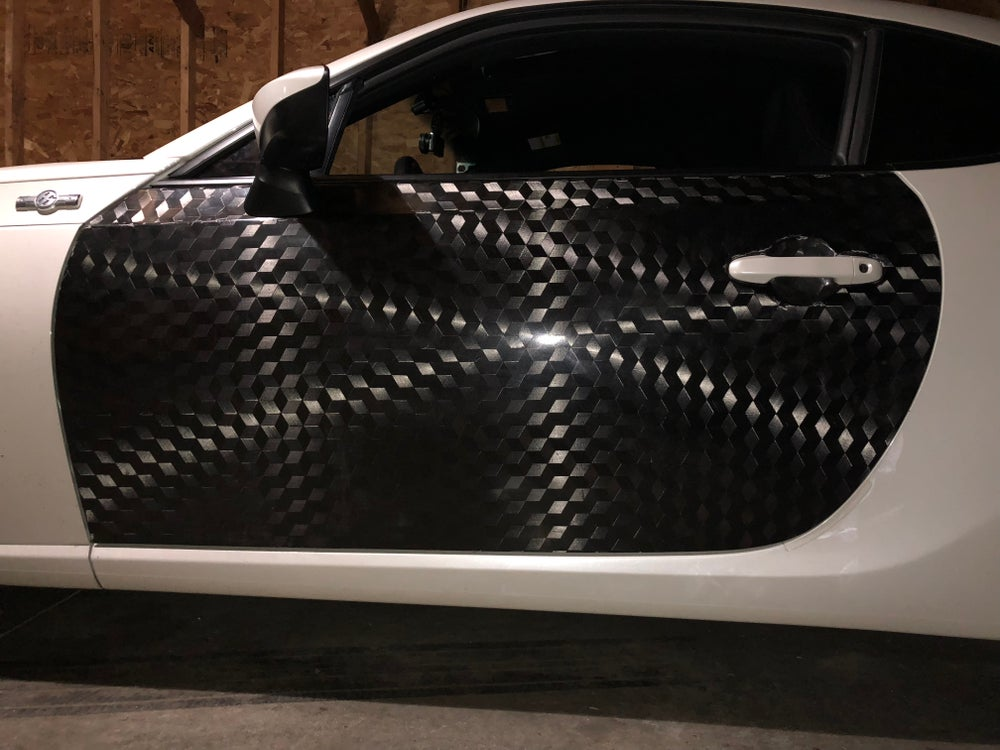 Image of FRS/BRZ/GT86 dry carbon doors