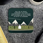 Image of 'Joy n' Peace' Coaster