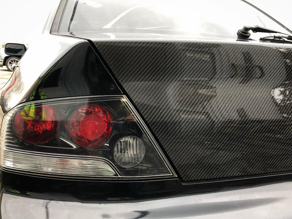 Image of EVO 8/9 dry carbon trunk