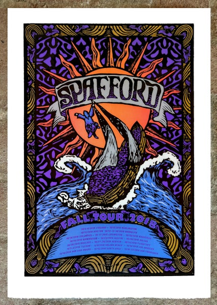 Image of Spafford 2018 Fall Tour Print v.2
