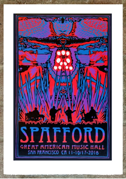 Image of Spafford San Francisco Print 11-16/17-2018