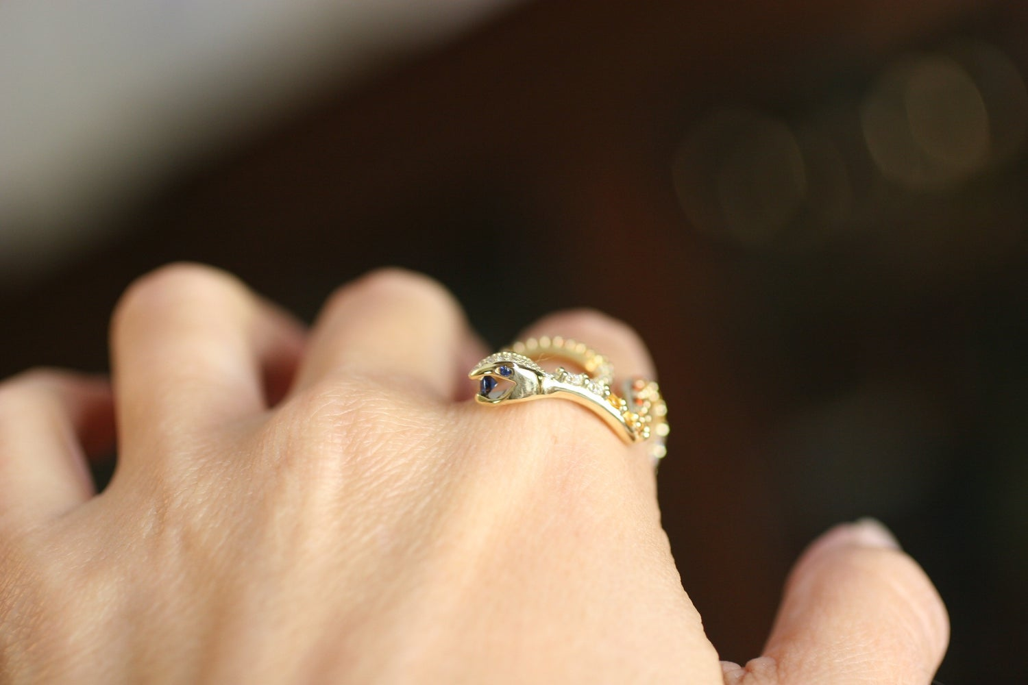 Image of Desert Snake Ring