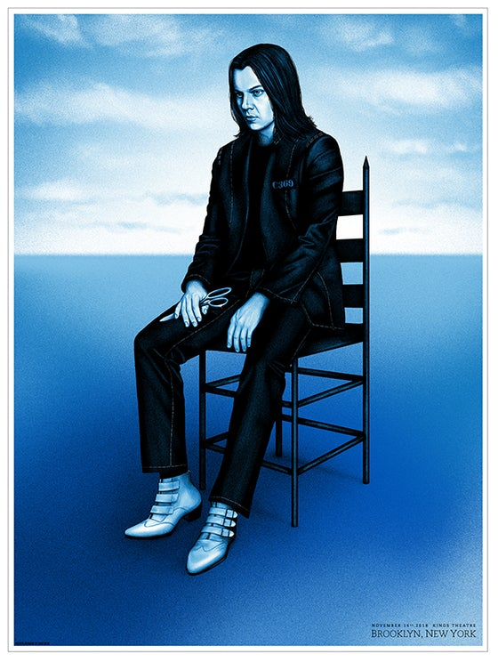 Image of *LOW STOCK* Jack White - Brooklyn, Nov 16th