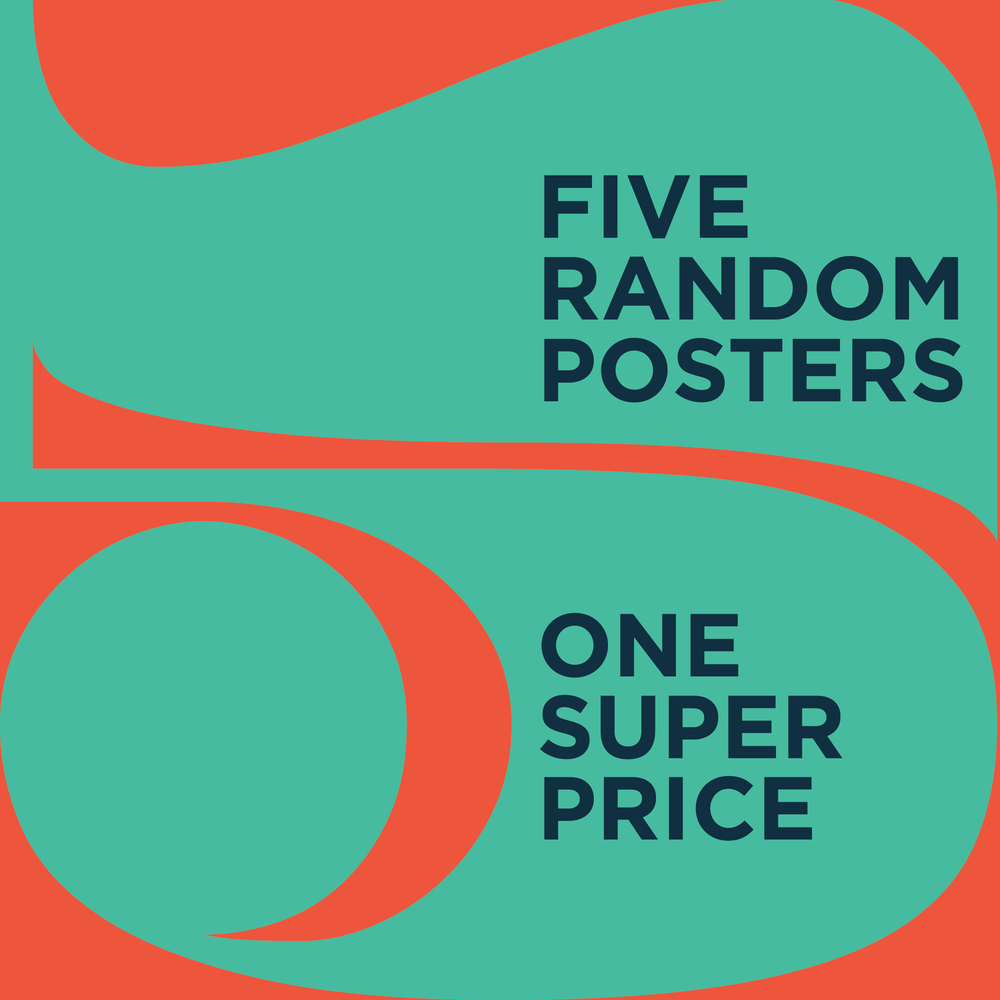 Image of FIVE RANDOM POSTER