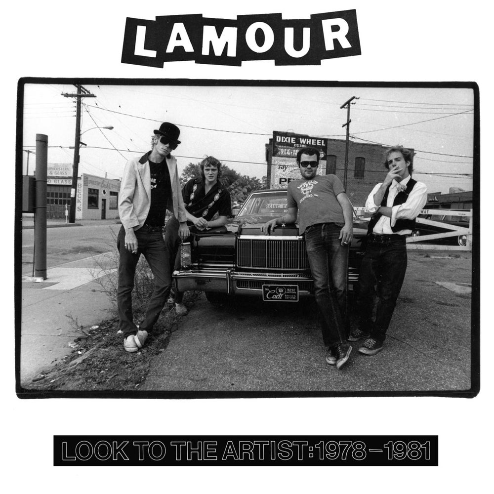 Image of L'Amour 'Look To The Artist: 1978-1981' LP 70s Richmond, USA Punk