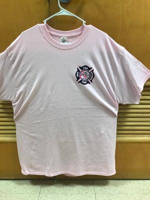Image of 2018 Pink Navy Region Midlant Duty Shirt